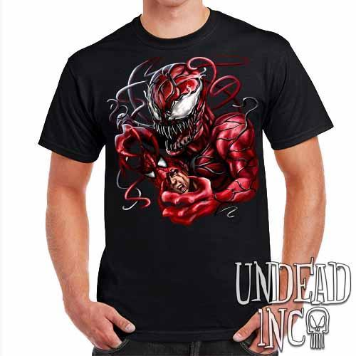 Carnage Spider-man - Mens T Shirt