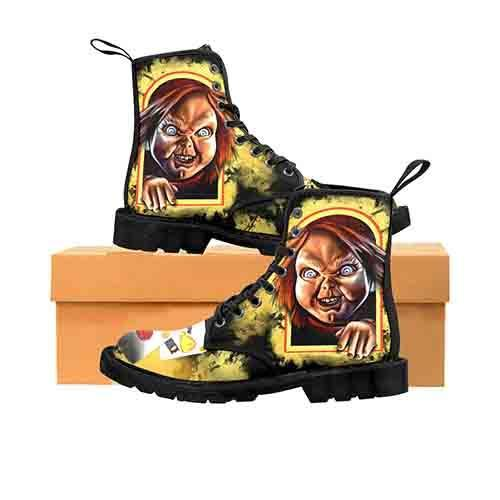 Chucky Good Guys Box MENS Martin Boots