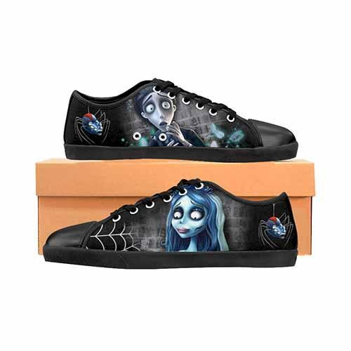 Corpse Bride LADIES Canvas Shoes