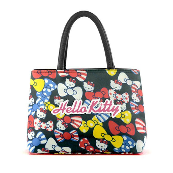 Hello Kitty Black Bow Double Handbag