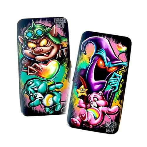 Retro Care Bears Undead Inc Hinge Long Line Wallet