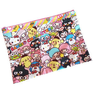 Hello Kitty Sanrio Characters LARGE Capacity Travel Storage Cosmetics Bag