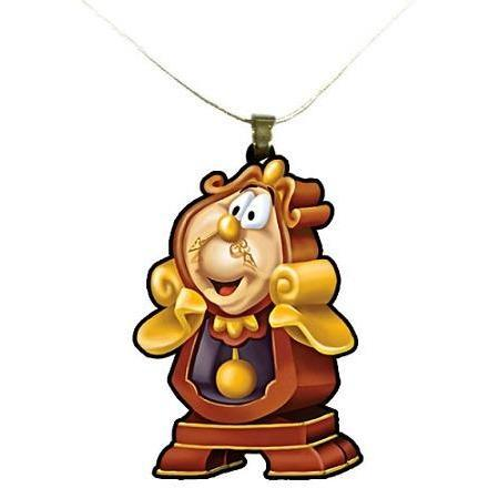Beauty and the Beast Cogsworth Necklace - Undead Inc ,