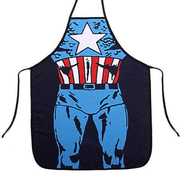 Captain America Comic Book Apron