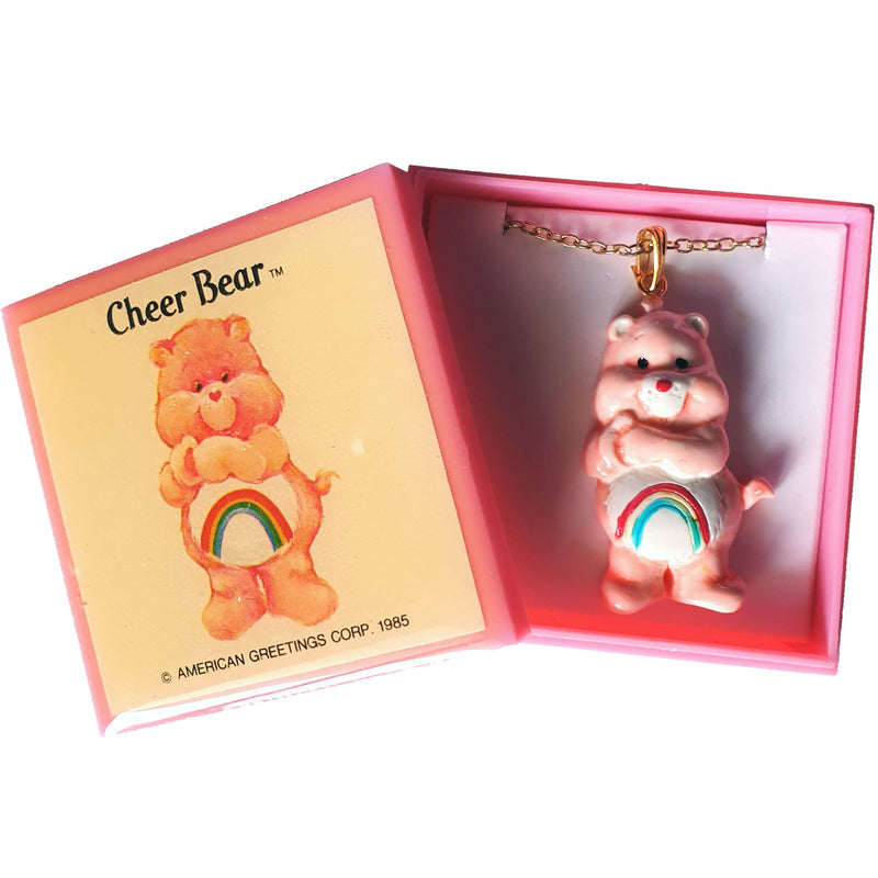 Care Bears 1985 - Cheer Bear NECKLACE Necklace Care Bears