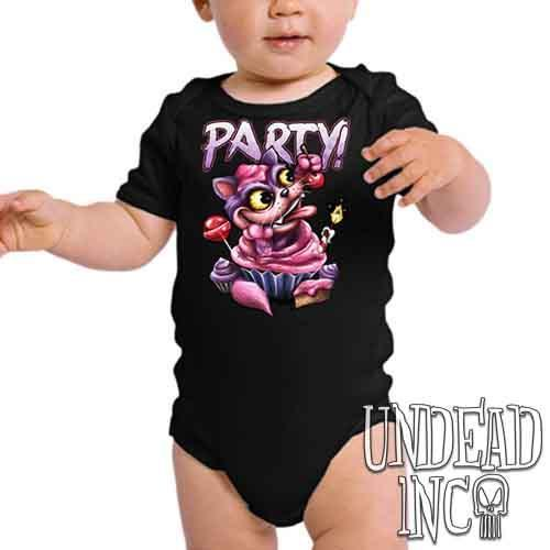 Alice In Wonderland Cheshire Cat Cake Mad - Infant Onesie Romper