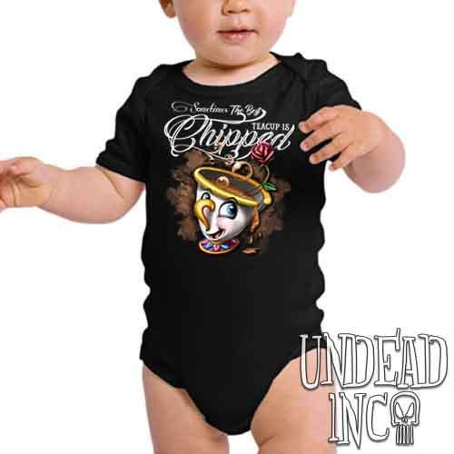 Beauty and the Beast Chip Teacup - Infant Onesie Romper