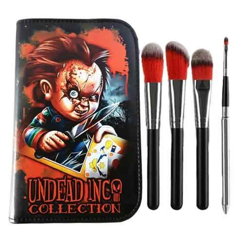 Undead Inc Collection Chucky - Makeup Brush & Case Set