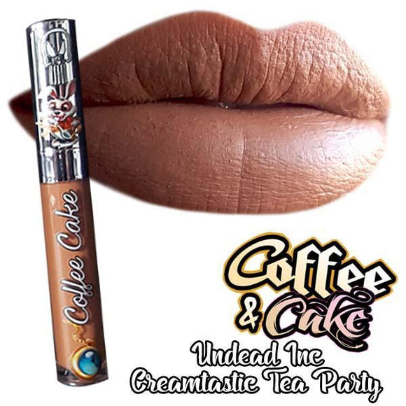 Undead Inc COFFEE CAKE Coffee & Cake - Tea Party Matte Liquid Lipstick