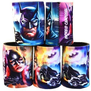 Batman & Batgirl Stubby Cooler - Undead Inc Drinkware,