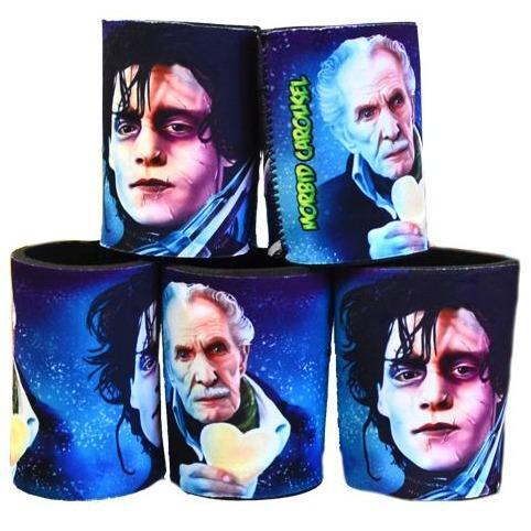 Edward Scissorhands Stubby Cooler - Undead Inc Drinkware,