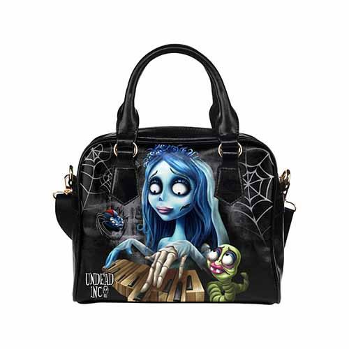 Corpse Bride Undead Inc Shoulder / Hand Bag - Undead Inc Shoulder Handbags,