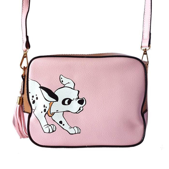 101 Dalmatians Puppy PU Leather Shoulder / Cross Body Bag