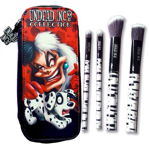 Undead Inc Collection Cruella De Vil - Makeup Brush & Case Set