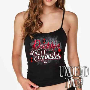 Harley Quinn Daddy's Lil Monster - Petite Slim Fit Tank