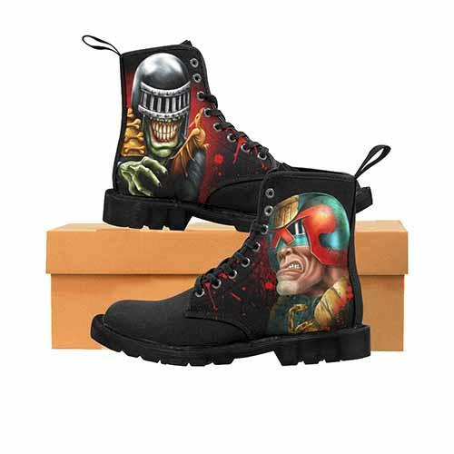 Judge Dredd & Judge Death Black MENS Martin Boots