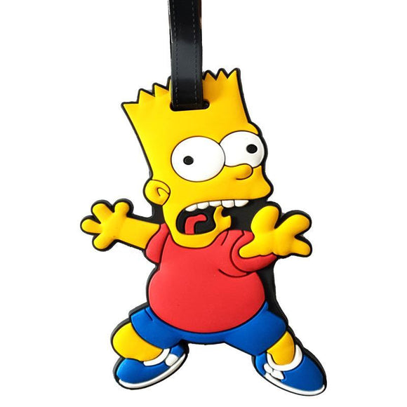 The Simpsons BART Bag Tag