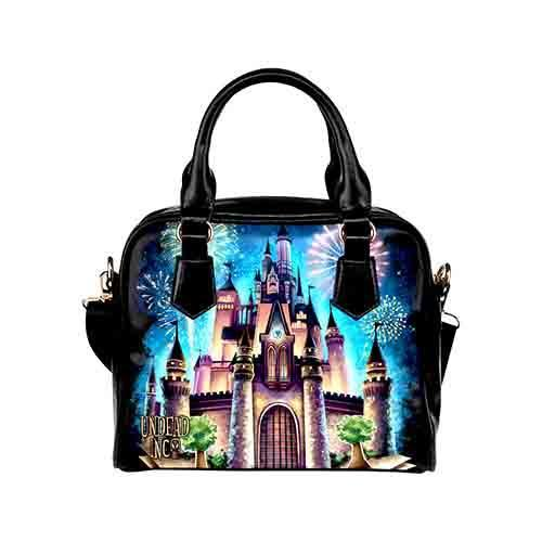 Undead Inc Castle Of Dreams Shoulder / Hand Bag