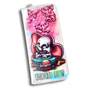 Dumbo Bubble Bath Parade Undead Inc Long Line Wallet Purse