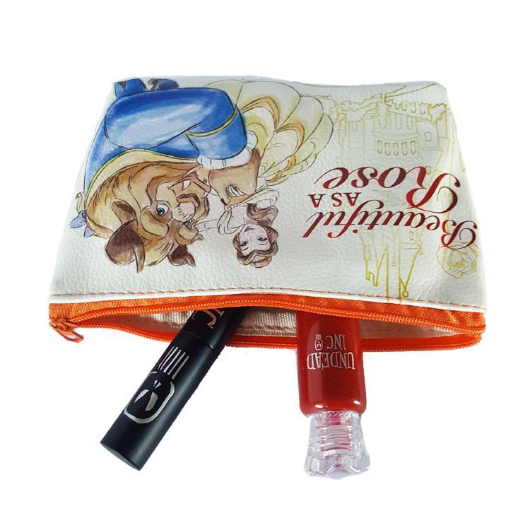 Beauty & The Beast Cosmetics Bag Matte Liquid Lipstick Set - Undead Inc Matte Liquid Lipstick,