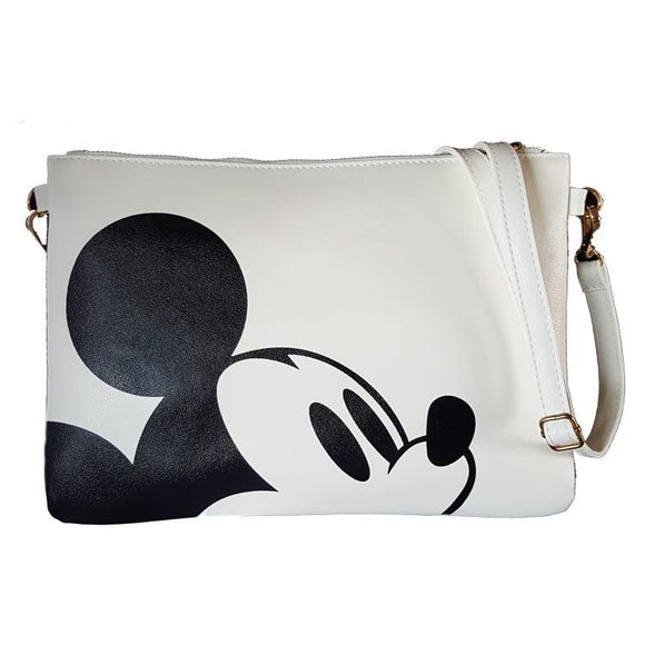 Mickey Mouse Creamy White Cross Body / Shoulder Bag
