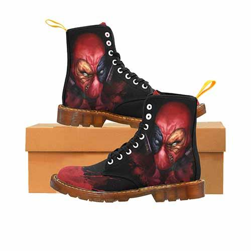 Deadpool MENS Martin Boots - Undead Inc Mens Boots,