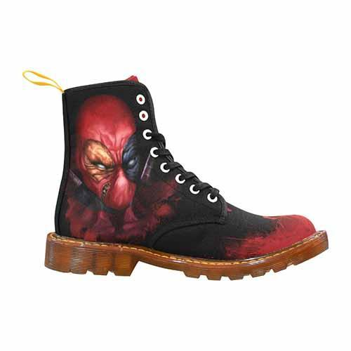Deadpool LADIES Martin Boots - Undead Inc Womens Boots,