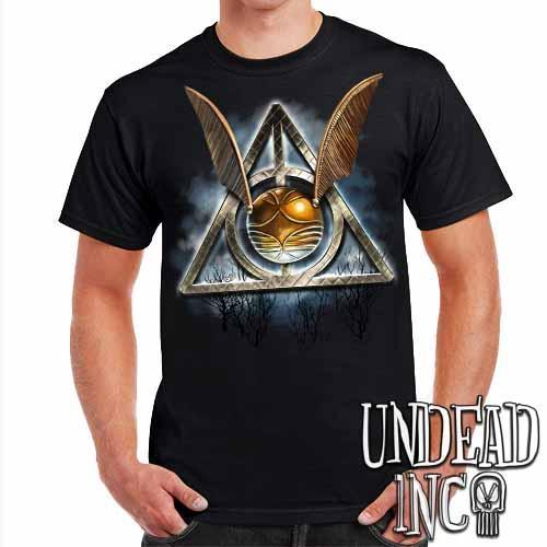 Deathly Hallows Snitch - Mens T Shirt