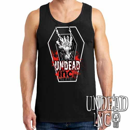 Undead Inc Devil Horns - Mens Tank Singlet