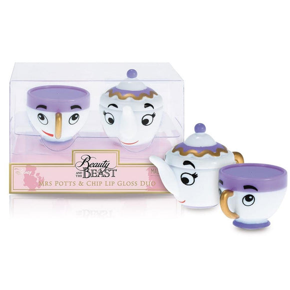 Disney Mrs Potts & Chip Lip Gloss Duo - Undead Inc Lip Gloss,