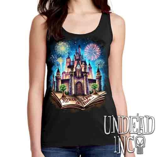 Storybook Castle Of Dreams - Ladies Singlet Tank