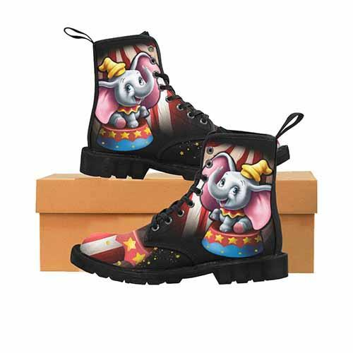 Dumbo Circus LADIES Martin Boots