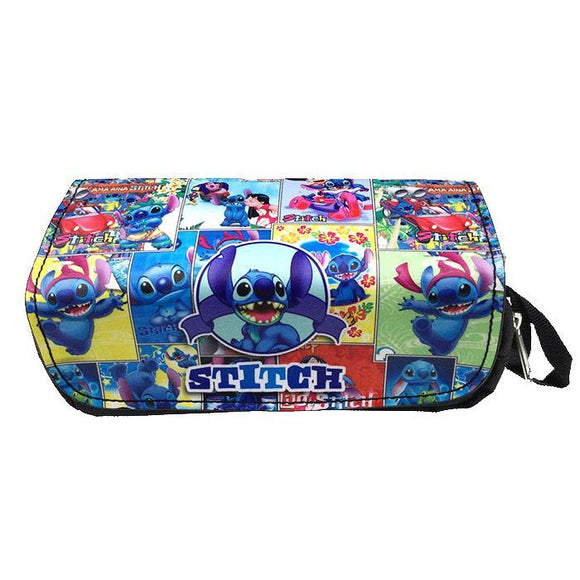 Lilo & Stitch Collage Cosmetics Bag