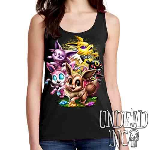 Eevee Evolution - Ladies Singlet Tank
