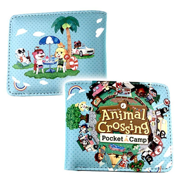 Animal Crossing Pocket Camp Pu Leather Wallet
