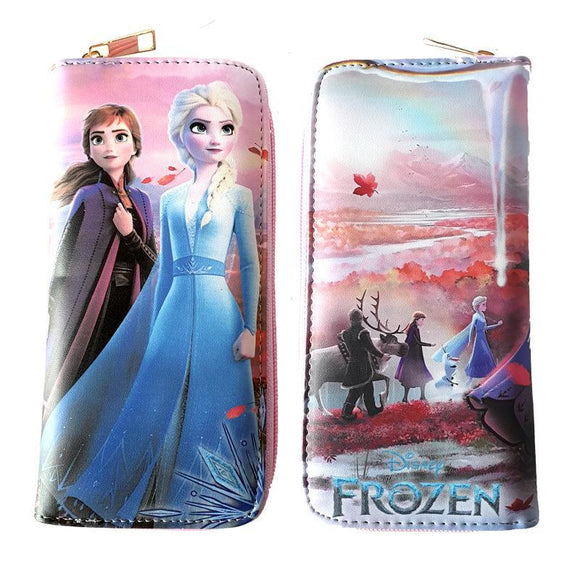 Frozen Into The Unknown Long Line Wallet