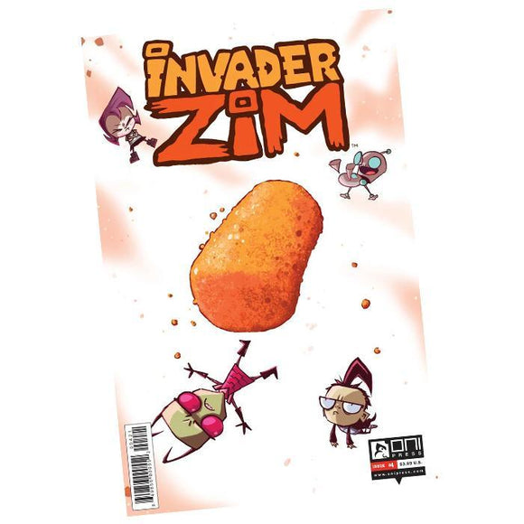 Invader Zim Comic Book #4 VARIANT COVER
