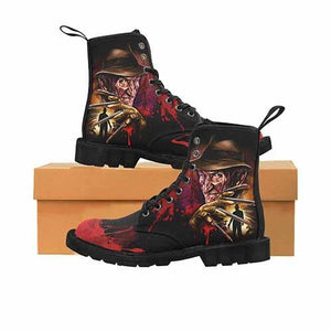 Freddy Krueger LADIES Martin Boots - Undead Inc Womens Boots,