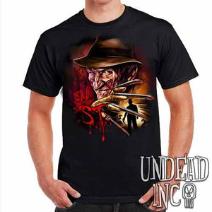 Freddy Krueger Elm ST- Mens T Shirt - Undead Inc Mens T-shirts,