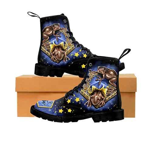 Harry Potter Chocolate Frogs MENS Martin Boots