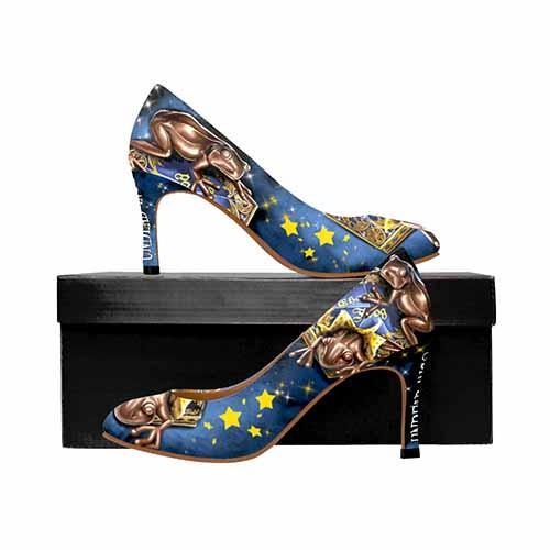 Harry Potter Chocolate Frogs MEDIUM High Heels