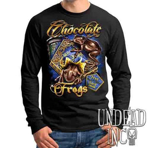 Harry Potter Chocolate Frogs - Mens Long Sleeve Tee