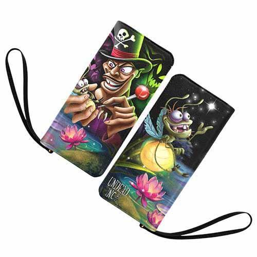 Undead Inc - Villains Dr Facilier & Ray Voodoo Clutch Purse Wallet