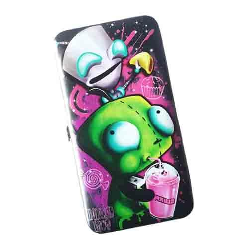 Invader Zim Gir Undead Inc Hinge Long Line Wallet