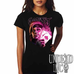 X-men Gambit - Ladies T Shirt