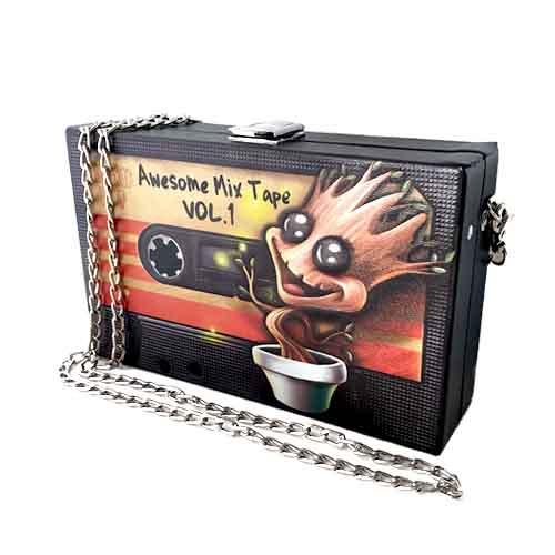 Groot Awesome Mix Tape Undead Inc Shoulder Bag / Clutch