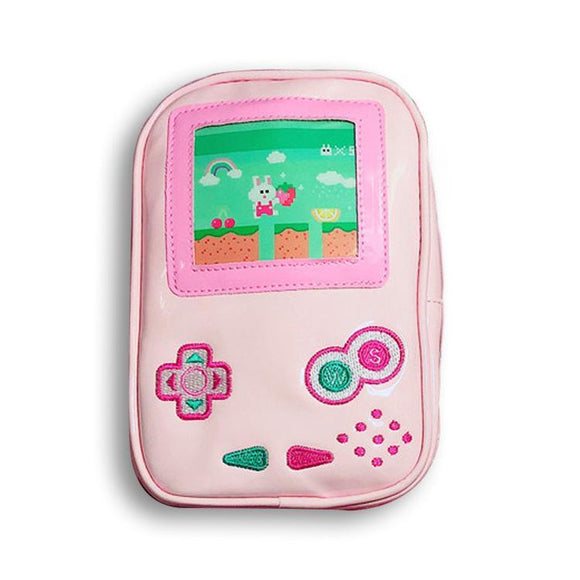 Game Boy Bunny Makeup Cosmetics Bag - Undead Inc Cosmetics Bag,