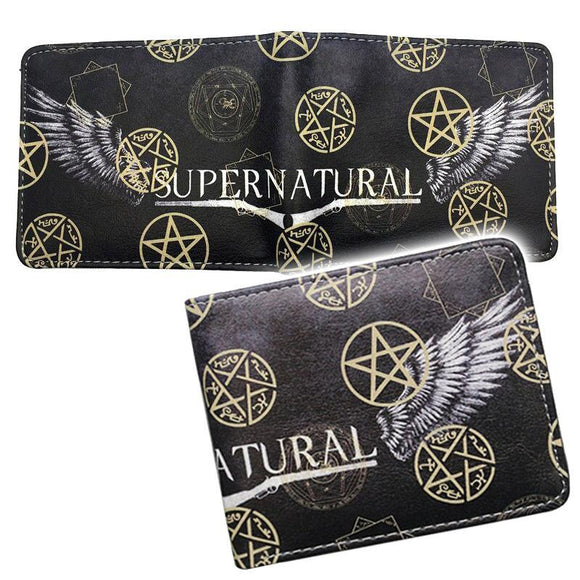 Supernatural Wings PU Leather Bifold Wallet