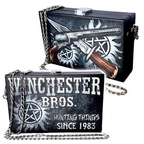 Winchester Bros. Hunting Things Undead Inc Shoulder Bag / Clutch
