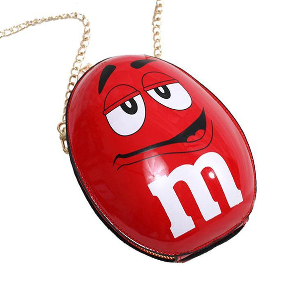 M&M's Red Classic Shoulder Bag Clutch